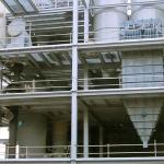 Biomass heating powerplant
